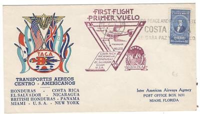 a1075 Costa Rica Illustrated cover First Flight