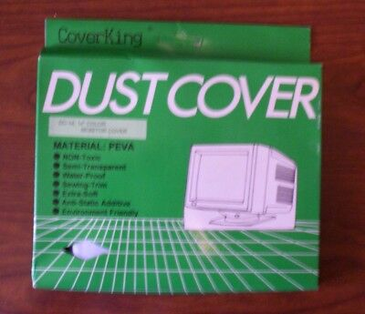 Vintage 1990's CRT Monitor Cover - Clear - New in box - Go Retro - Winmalee NSW
