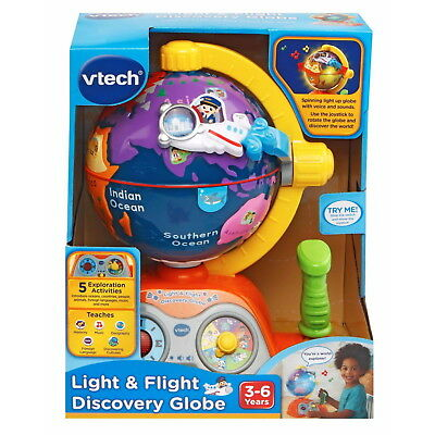 Light & Flight Discovery Music Globe For 3-6 Years By VTECH