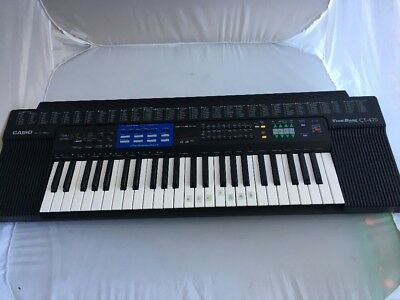 CASIO Tonebank CT470  Electronic Synthesizer Keyboard