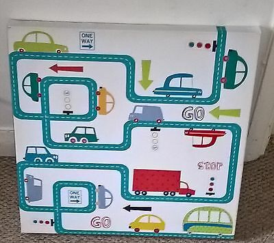 Next Cars Canvas Picture - Ideal For Boy's Bedroom