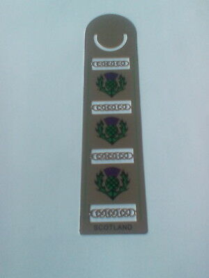 Celtic design bookmark Thistles NEW