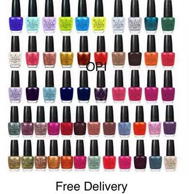 OPI Nail Polish Lacquer All Popular Shades 100 Authentic, 15ml