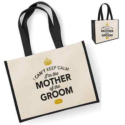 Mother Of The Groom Gift Idea Wedding Party Bridal Bag Handbag Hen Party Present