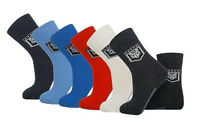 Thin Wool Socks Kids 3 Pack 80% Wool - Various Colours & Sizes VERY Warm & Cosy!