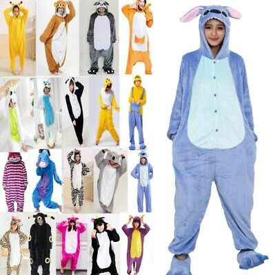pigiama animale intero kigurumi  costume carnevale Halloween cosplay, materiale