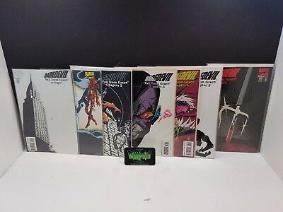 Daredevil #319-325 Fall From Grace Set NM Marvel Comic Kingpin Venom Elecktra