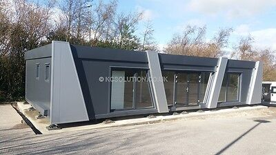 Price per 1 SQ/M Modern pavilion ,portable cabin,modular building, sales office