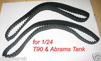 heng long Tank Track for Abrams T90  Leopard A5  on 1/24 scale