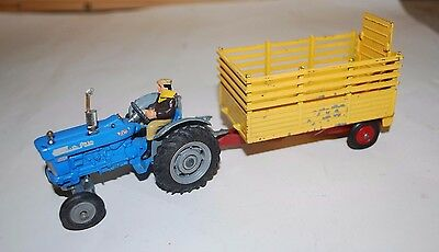 Corgi Toys Gs 1 Ford 5000 Super Major Tractor With Beast Carrier