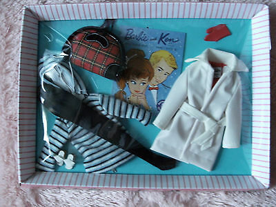 Let's Play Barbie 2012 WINTER HOLIDAY Fashion Outfit (#975) REPRODUCTION NRFB