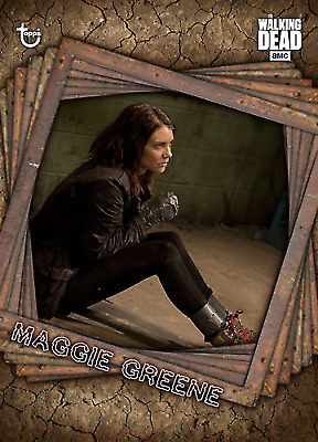 Topps Walking Dead Maggie Greene: Tied Up TRAPPED Wave 2 Limited [Digital Card]