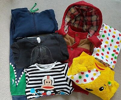boys winter clothes bundle 3-4 years Pudsey