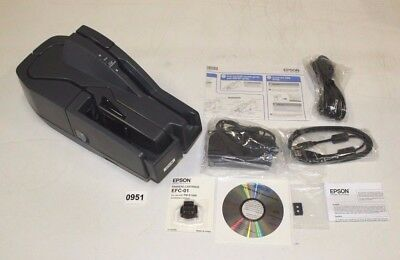 New in Box Epson TM-S1000 CaptureOne Check Scanner Model M236A
