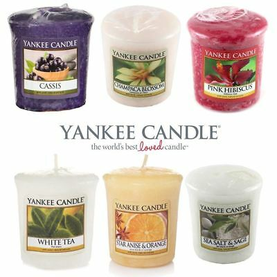 Votive Candles Yankee Candle 15 Hour Burn Time 6 Fragrances Home Decorations