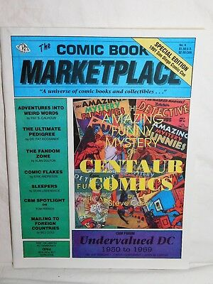 Comic Book Marketplace #4  Special Edition 1991 San Diego Comic Con