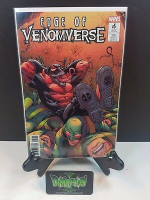Edge of the Venomverse #5 Deadpool Variant NM Marvel Comics Bunn Spider Man