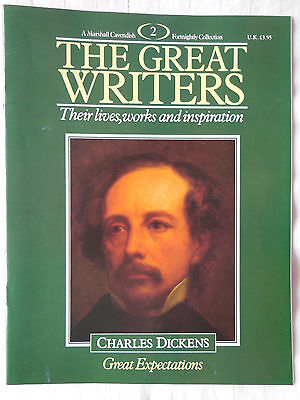 Marshall Cavendish Great Writers Magazine 2 Charles Dickens - Great Expectations