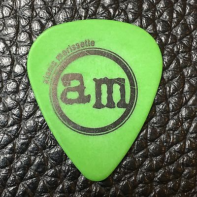 Alanis Morissette - Jagged Little Pill - Real Tour Guitar Pick - Alanis' Pick!