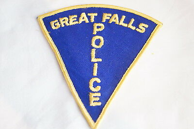 US Great Falls Montana Police Patch