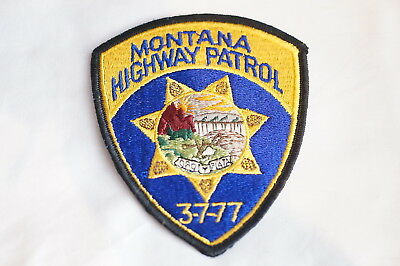 US Highway Patrol Montana Police Patch 1