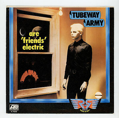 """Electronic UK : TUBEWAY ARMY (GATY NUMAN):Are """"Friends"""" Electric - 7"""" ITALY 1979"""