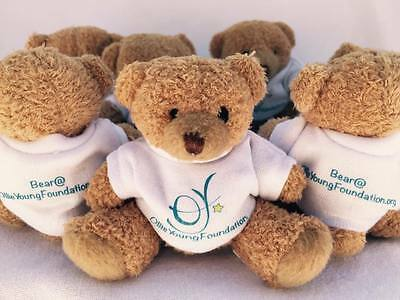 Official Ollie Young Foundation Teddy Bears - help fund brain tumour research!