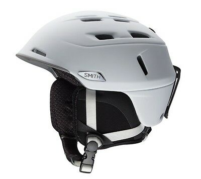 Smith Camber Snow Helmet - Men's - Matte White - Medium