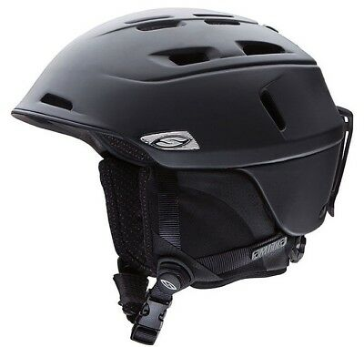 Smith Camber Snow Helmet - Men's - Matte Black - Medium