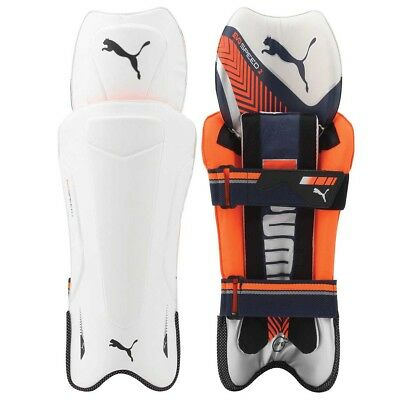 NEW Puma evoSPEED 2 Junior Cricket Wicketkeeping Pads   from Rebel Sport