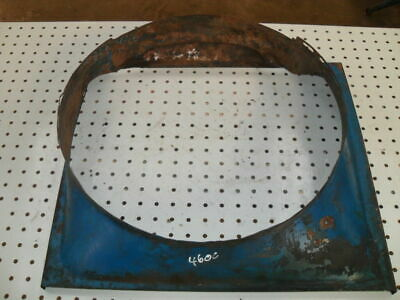 Ford 4600/4000 Steel Radiator Cowling in Good condition
