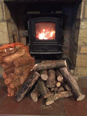 Puppy Logs Small Cut Logs Ideal For Small Woodburner Fire Chimera Stove Campfire