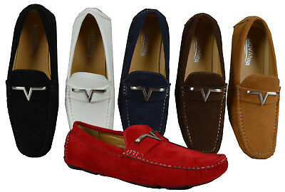 Men's Giovanni Dress Shoes Driving Moccasin Prom Formal Slip On Casual M788-38