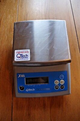 QTECH XRES DIGITAL COUNTING SCALE 12 LB. Ticket Counter