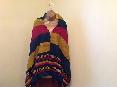 Ethiopian Traditional Shawel 100% cotton Rasta colors