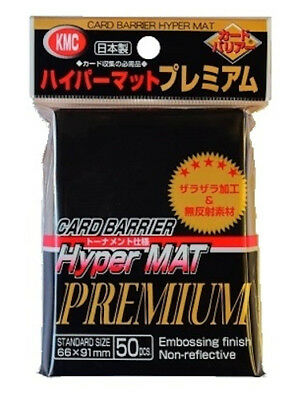 KMC Sleeves CARD BARRIER Hyper MAT PREMIUM 50 sheets TCG Card Sleeves Protect
