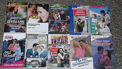 Lot Of 10 Harlequin & Silhouette Romance Books New