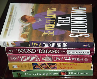 Lot Of 5 New Contemporary Romance Books