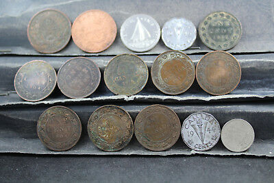 Canada 15 assorted coins   lot H 276