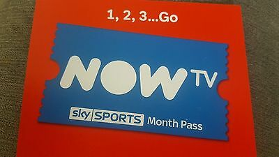 1 Month Now T.V Sports Pass (50% OFF VOUCHER - SAVE £17)