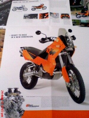 KTM 950 ADVENTURE R  Fold out brochure excl cond.
