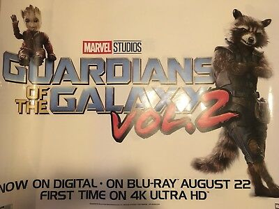 Guardians Of The Galaxy 2 Store display RARE!!