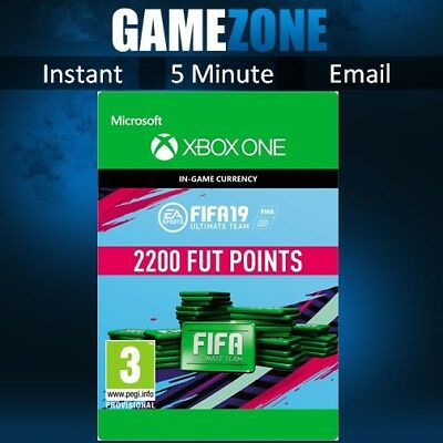 FIFA 19 Ultimate Team - 2200 FIFA Points - Xbox One - FUT Points Code - 2019