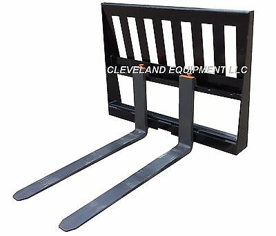 NEW 3,000 LB PALLET FORKS & FRAME ATTACHMENT Kubota Skid Steer Tractor Loader