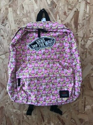 Vans Nintendo Backpack Princess Peach New With Tags