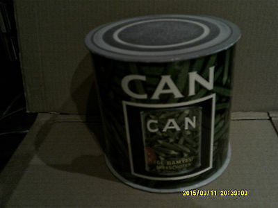 CAN empty Ege Bamyasi Can-Shaped gimmick PROMO box for JAPAN mini lp cd / no cd