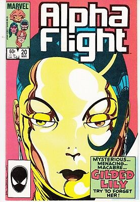 Alpha Flight  #20 1984 ''gold And Love Affairs''  Byrne/ O'neil..fn/vf