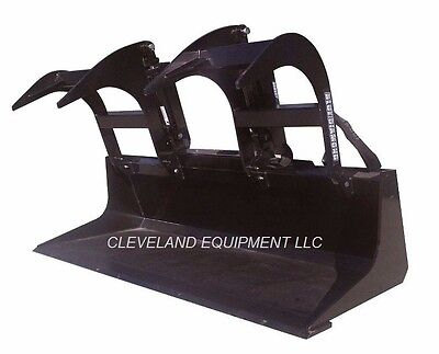"NEW 60"" LD GRAPPLE BUCKET ATTACHMENT Skid-Steer Loader Tractor Claw Bobcat 5'"