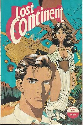 Lost Continent  #5 1991 Eclipse B&w ''japanese Story Translated'' Yamada...nm-