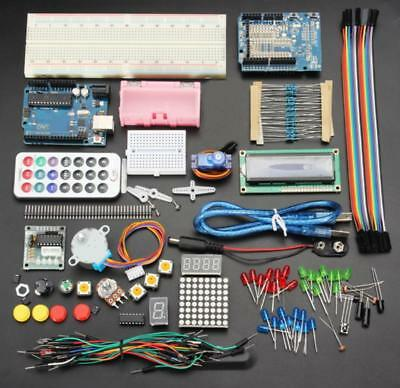 UNO R3 Basic Starter Learning Kit No Battery Version For Arduino